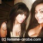 Deux belles beurettes arabes pour plan cul a Brest